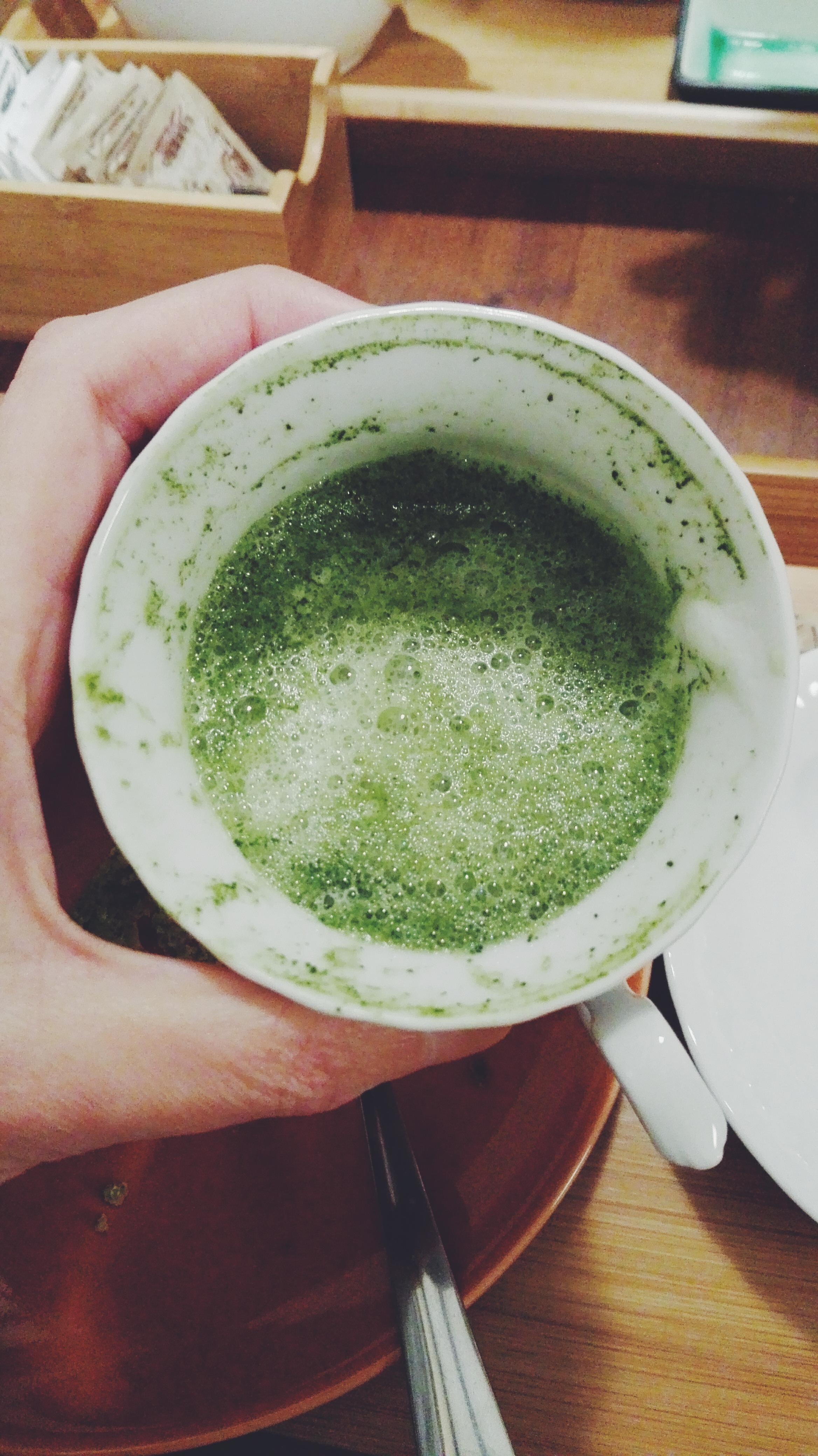 tea in italy