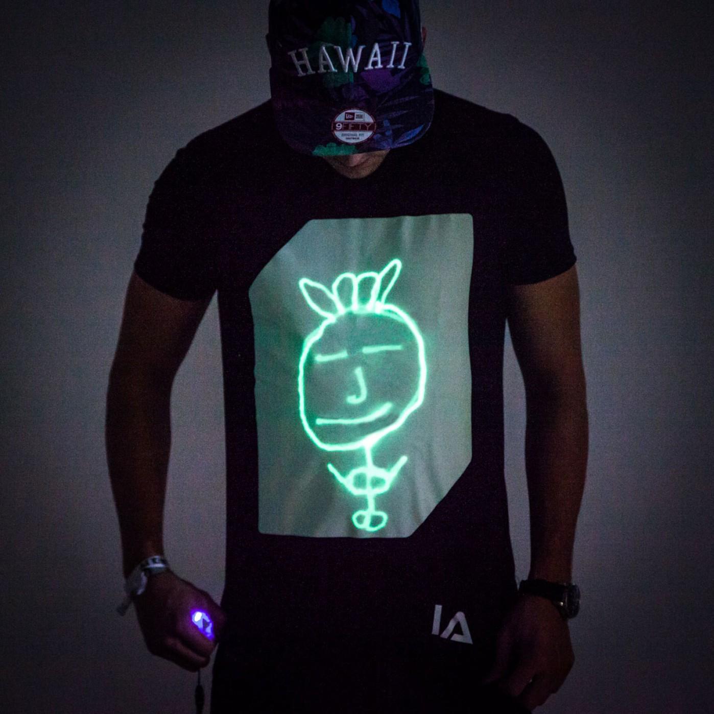 glow interactive tshirt